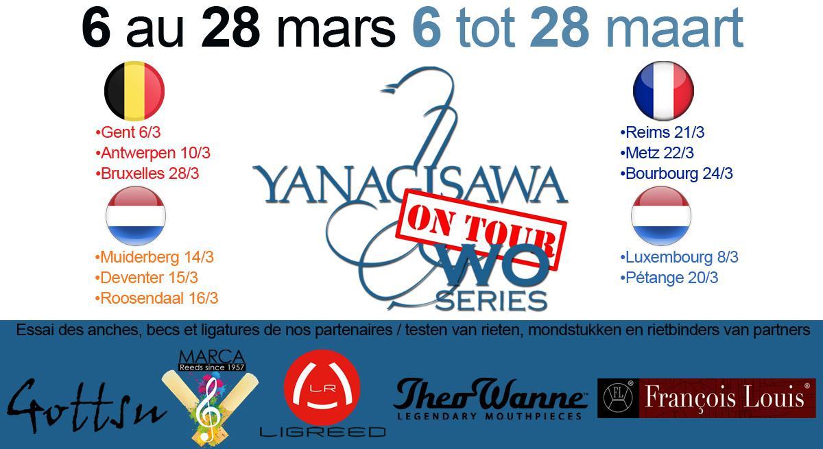 Photo Tournée Yanagisawa Du 6 au 28 Mars